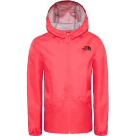 The North Face Zipline Rain Jacket Girls Atomic Pink